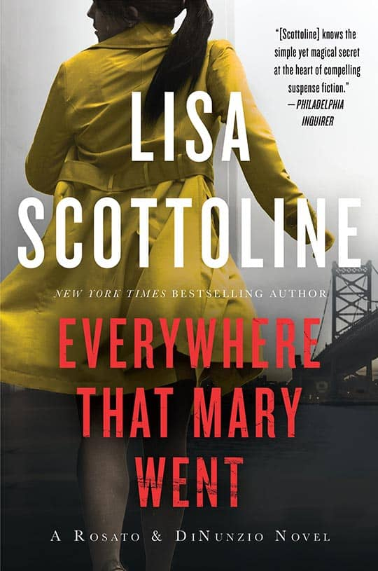 Everywhere That Mary Went paperback book cover
