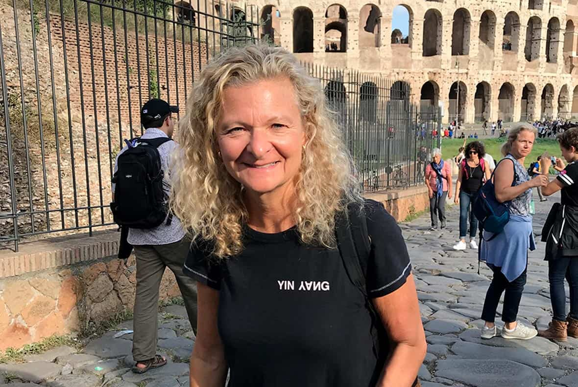 Lisa Scottoline in Italy